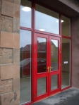 The New Front Door - All Red!